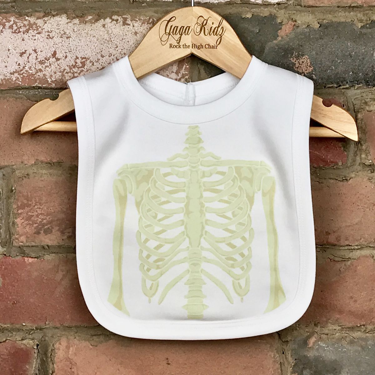 Skeleton Baby Bib - product images  of
