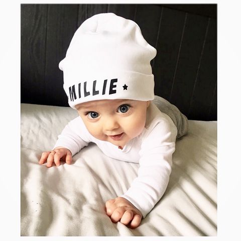 Baby,Name,Beanie,Hat,Personalised,(various,sizes),baby name beanie hat, personalised baby name hat, personalised baby name beanie hat, baby name hat, personalised baby hat, unisex baby clothing, unisex baby hat, cotton baby hat, cute baby clothes, unique baby gifts, baby shower