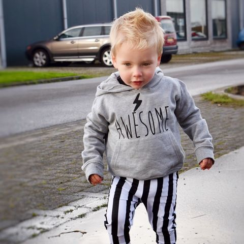 'Awesome',Kids,Hoodie,with,Lightning,Bolt,(Various,Sizes),awesome kids hoodie, kids super hero hoodie, baby superhero hoodie, awesome hoodie, baby clothes, kids clothes, cool toddler clothes, cool kid clothes, super kid hoodie