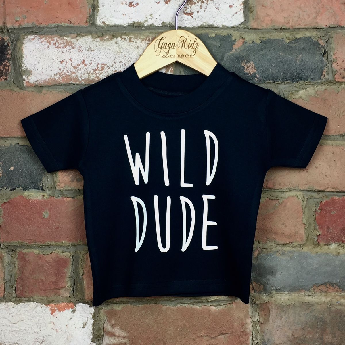 Wild Dude Cool Kids Black TShirt (various sizes) - product images  of