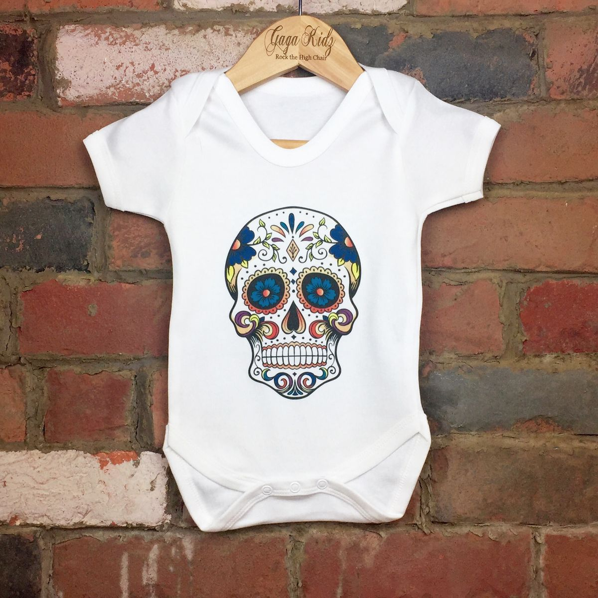 Sugar Skull Baby/Toddler Bodysuit (various sizes) - product images  of