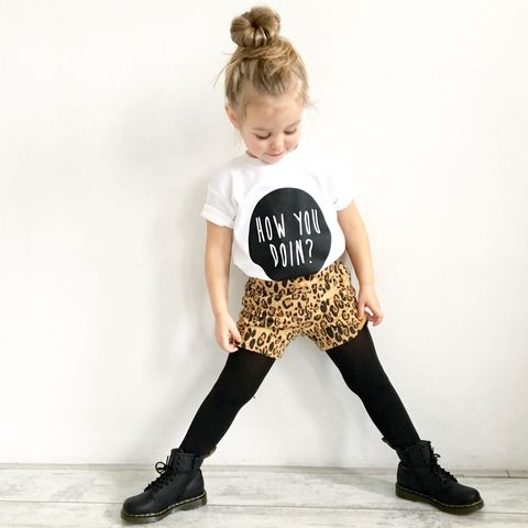 How,You,Doin,Black,or,White,T-Shirt,how you doin baby tee, how you doin baby t-shirt, friends kids tees, friends tee, how you doin t-shirt, cotton baby t-shirt, funny baby tee, cute baby clothes, funny baby clothes, unique baby gifts, unique baby clothes, cool baby tees