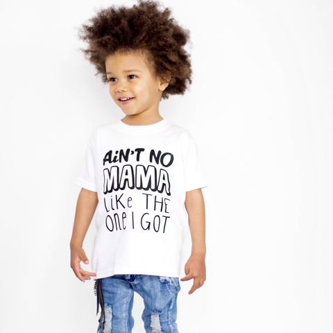 Ain't,No,Mama,Black,&,White,Kids,T-Shirts,(various,sizes),ain't no mama like the one I got, mothers day tshirt, mothers day tee, mothers day baby tee, baby t-shirt, funny kids shirt, funny baby t-shirt, funny baby tee, funny baby clothes, funny baby gifts