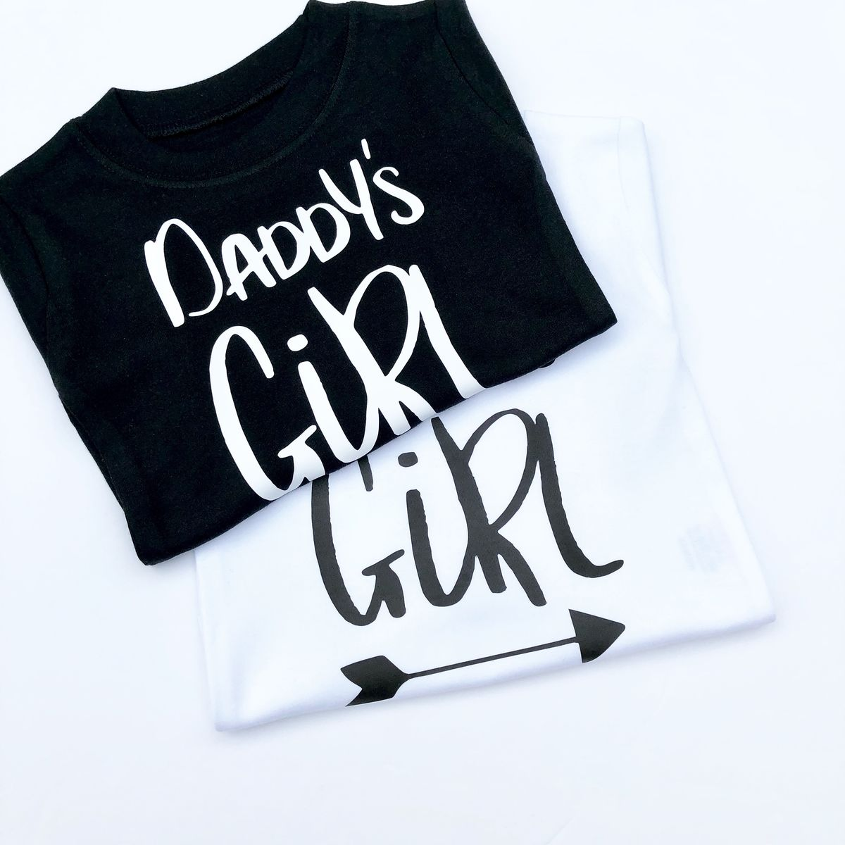 Daddy's Girl Black or White Bodysuit - product images  of