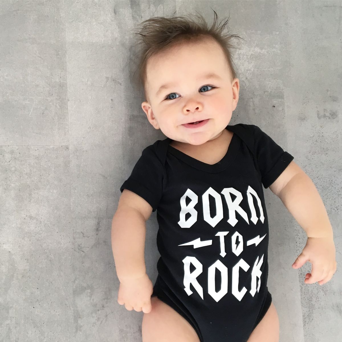 Born To Rock Black or White Bodysuit - product images  of