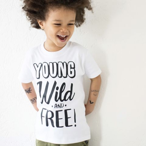 Young,Wild,and,Free,Kids,T-Shirt,(various,sizes),young wild free, young wild and free, wild and free tshirt, kids tshirt, baby tee, baby t-shirts, cool baby tees, cotton baby t-shirt, funny baby tee, cute baby clothes, funny baby clothes