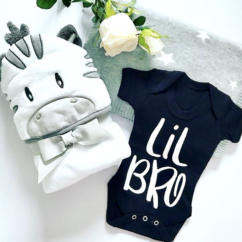 Lil Bro Sibling T-Shirt or Bodysuit (various sizes) - product images  of