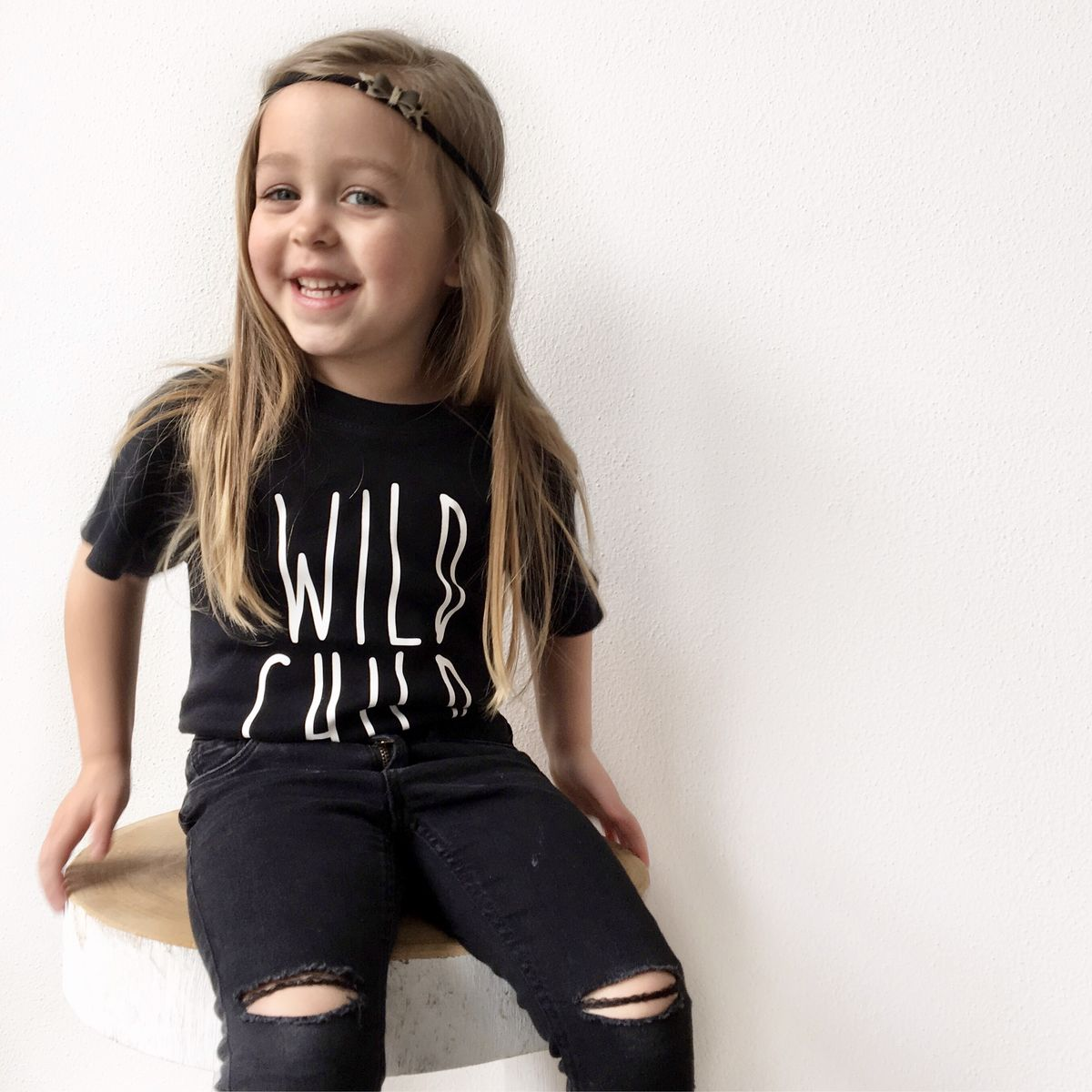 Wild Child Black or White T-Shirt - product images  of