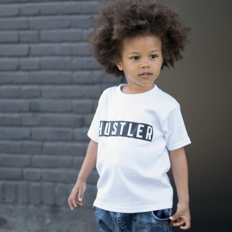 Hustler,White,&,Black,Kids,T-Shirts,(various,sizes),hustler black baby tee, baby hustler, hustler kids tees, hustler kids top, baby t-shirt, cotton baby t-shirt, funny baby tee, cute baby clothes, funny baby clothes, unique baby gifts, alternative baby gift, toddler clothes, toddler shirts
