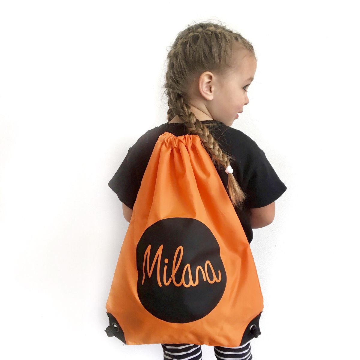 Name Drawstring Bag (Various Colours) - product images  of