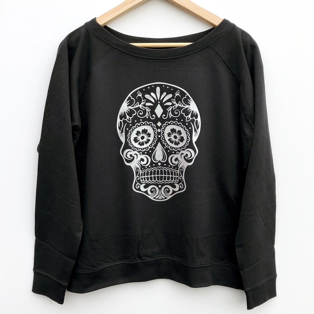 'Sugar Skull' Women's Sweatshirt - product images  of