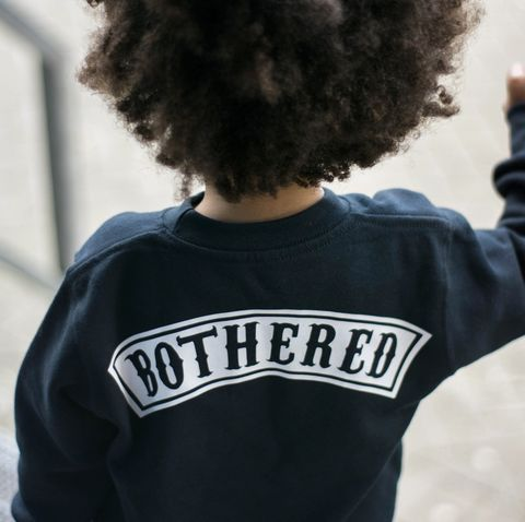 'Bothered',Kids,Sweatshirt,(various,sizes),not bothered, kinda care, kinda don't, cool kids sweatshirt, funny kids sweater, baby jumper, gift for him, popular kids clothes, trendy kids jumper, funny baby top, baby clothes, kids clothes, hipster kid, hipster baby