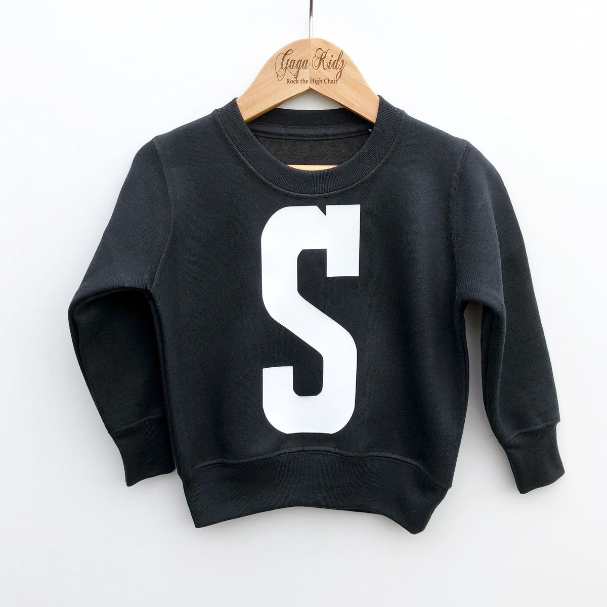 Custom Kids Initial Sweatshirt (various sizes) - product images  of