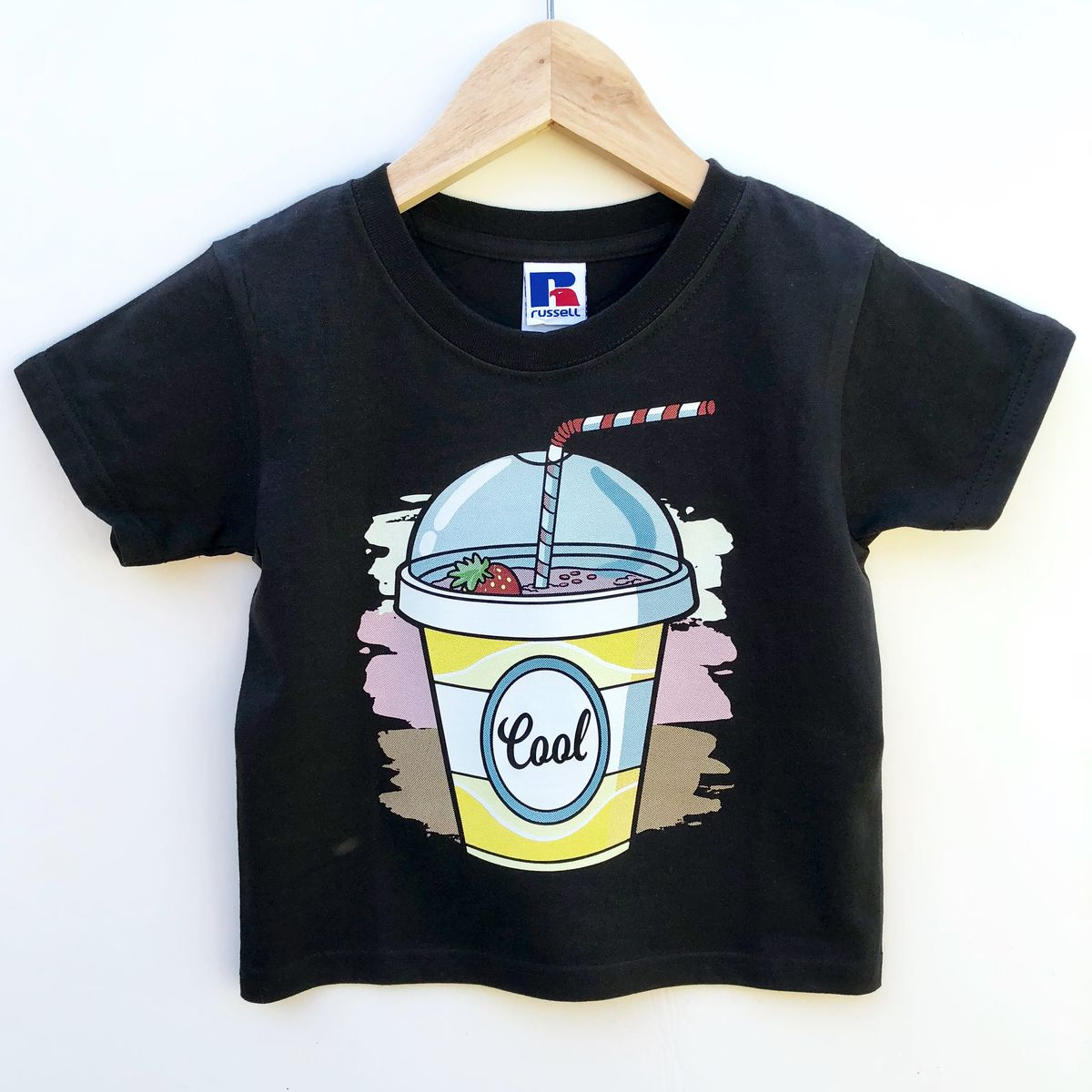 Milkshake Cool Kids Black T-Shirt (various sizes) - product images  of