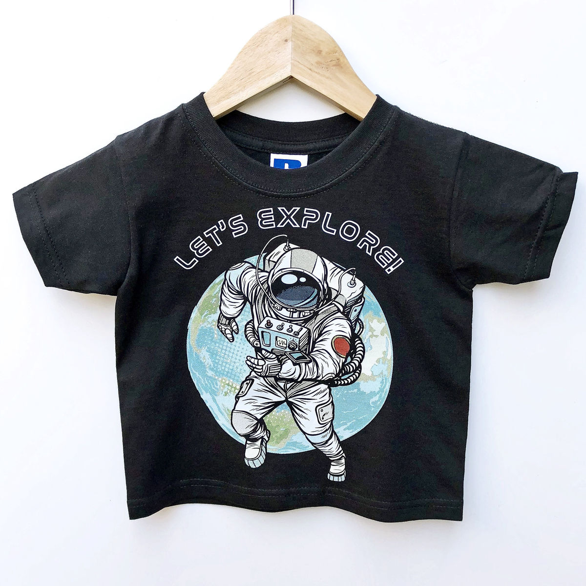 Spaceman Black or White T-Shirt - product images  of