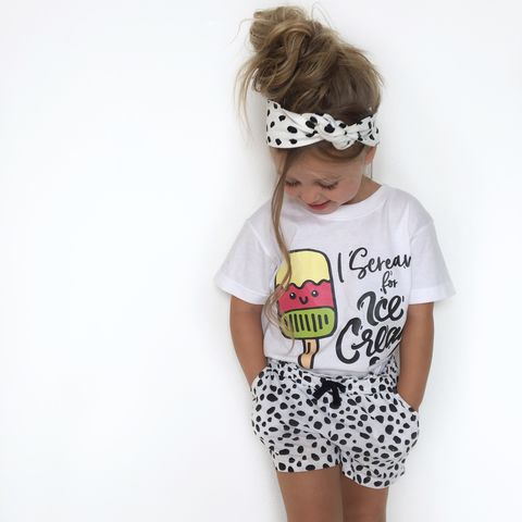 Scream,for,Ice,Cream,Black,&,White,Kids,T-Shirt,(various,sizes),ice cream tshirt, cool kids shirt, i scream for ice cream, kids summer shirt, baby summer shirt, ice lolly, clothes for kids, kids tshirt, baby tee, baby t-shirts, cool baby tees, cotton baby t-shirt, funny baby tee, clothes for babies