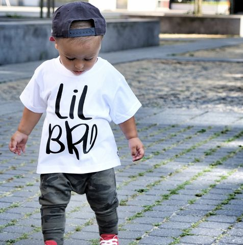Lil,Bro,Sibling,T-Shirt,or,Bodysuit,(various,sizes),sibling set, little bro, little brother, lil brother, lil bro, sibling gift, little brother gift, new baby gift, younger brother gift, kids clothes, brother t-shirt, baby brother bodysuit, brother onesie