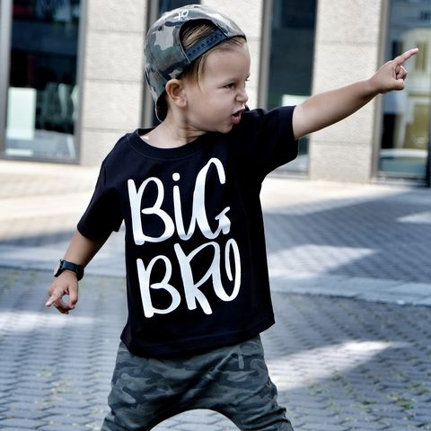 Big,Bro,T-Shirt,or,Bodysuit,sibling set, big brother, big bro, sibling gift, big brother gift, new baby gift, older brother gift, kids clothes, brother t-shirt, brother bodysuit, brother onesie
