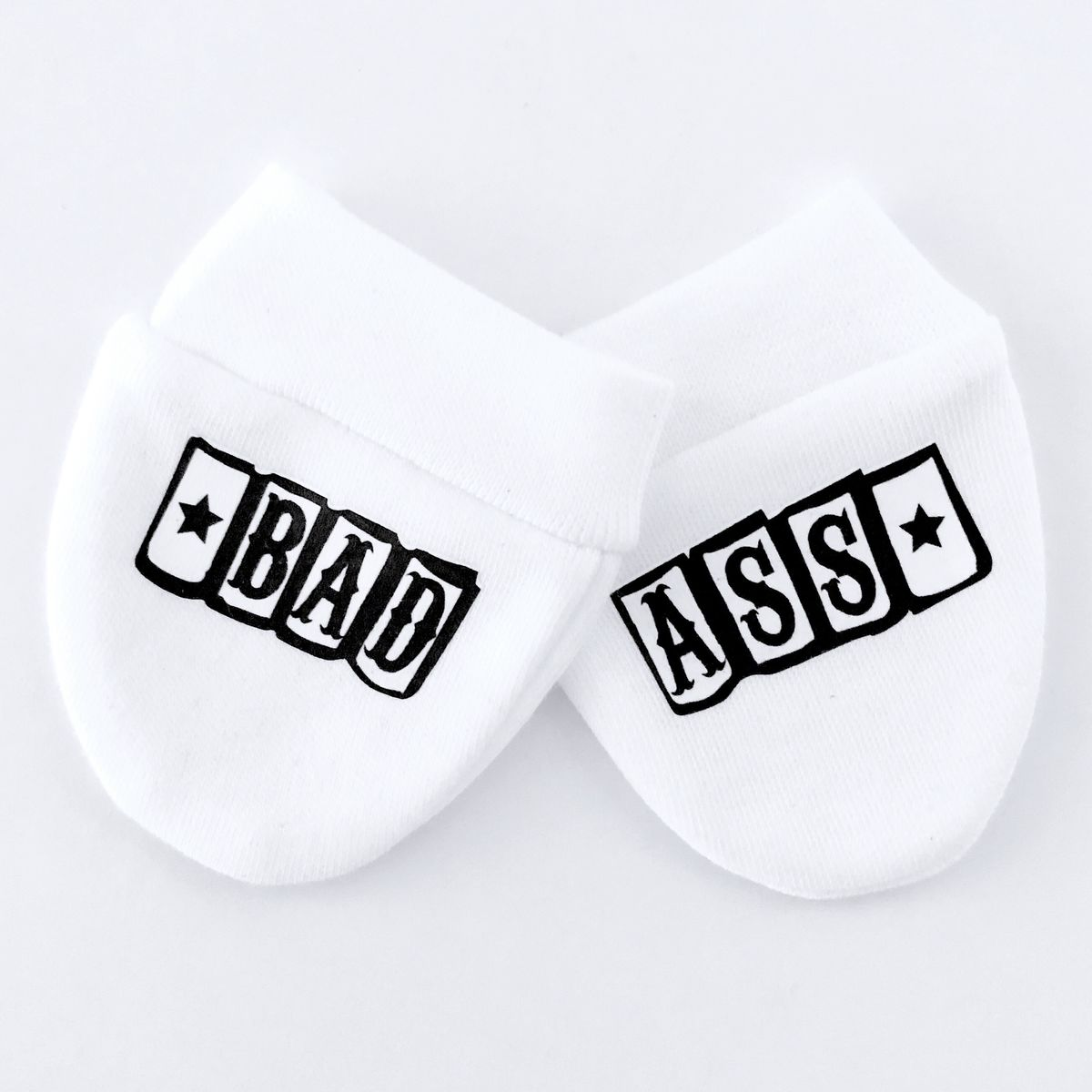 Bad Ass Baby Scratch Mittens - product image