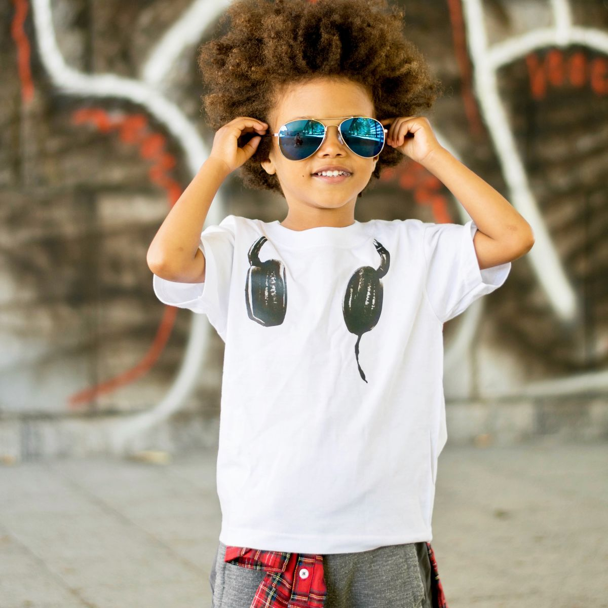 DJ Headphones T-Shirt - product images  of