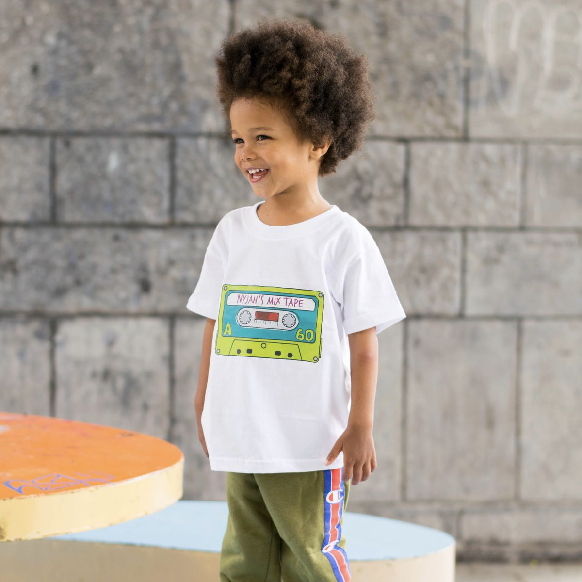 Custom Mix-Tape Kids T-Shirt (various sizes) - product images  of