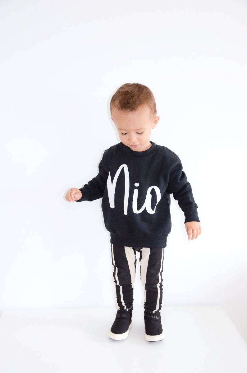 Custom Kids Name Sweatshirt (various sizes) - product images  of