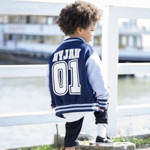 Name,&,Number,Varsity,Jacket,college football jacket, kids varsity jacket, custom varsity, name varsity, number varsity, kids baseball jacket, kids sports jacket, kids letterman jacket, kids football jacket, kids college jacket, personalised jacket, custom kids clothes