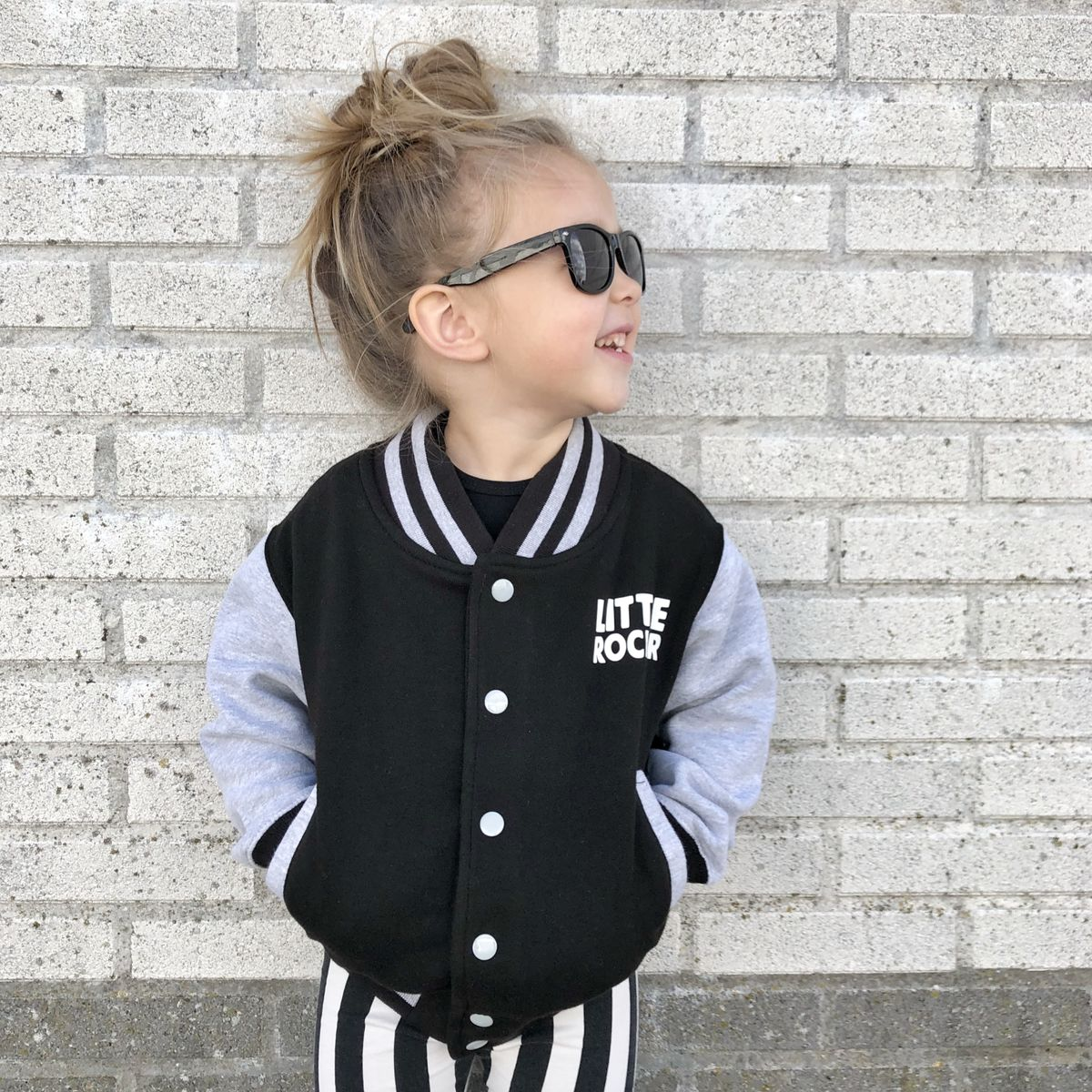 Kids Rock n Roll Varsity Jacket - product images  of