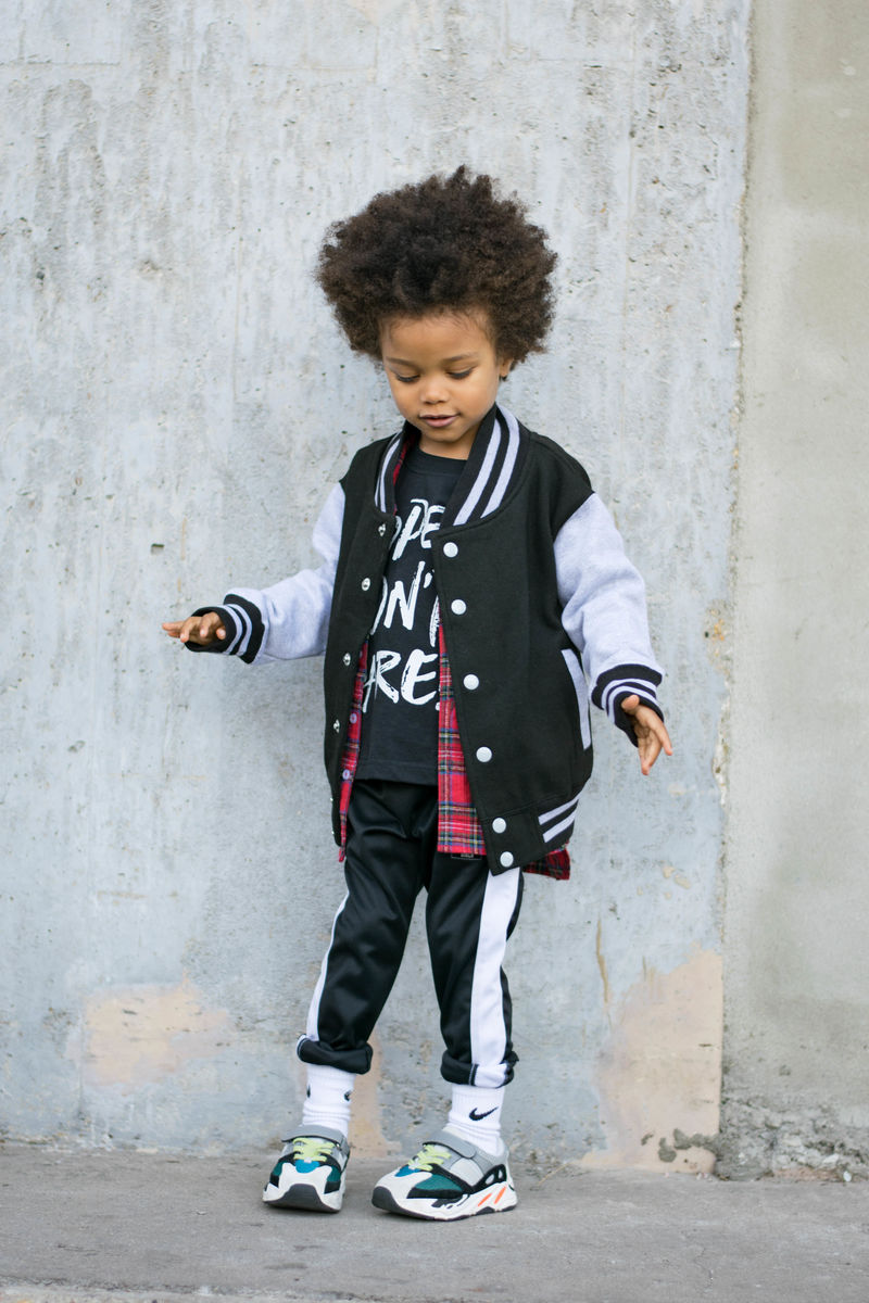 'Face' Kids Varsity Jacket - product images  of