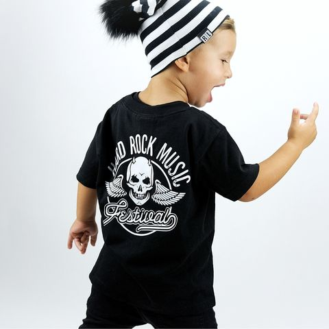 Rock,Festival,Black,or,White,T-Shirt,little rocker, rock star, kids rock, rock baby, rock n roll, rocker clothes, rock tshirt, festival tshirt, music festival, festival clothing, festival wear, kids music festival, rocker shirt, rock and roll gifts, little rocker, alternative baby tshirt