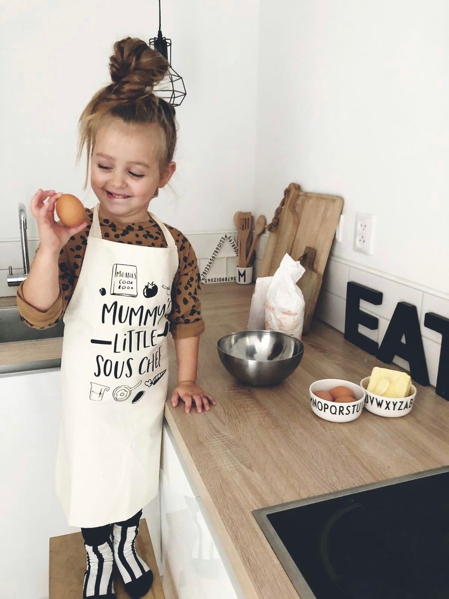 Mummy's Little Sous Chef Apron - product images  of