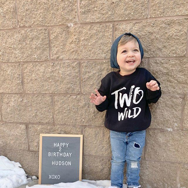 'Two Wild' Kids Sweatshirt (various sizes) - product images  of