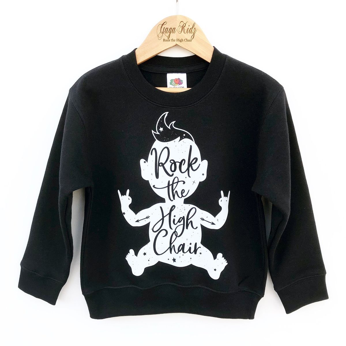 'Rock the High Chair' Kids Sweatshirt (various sizes) - product images  of