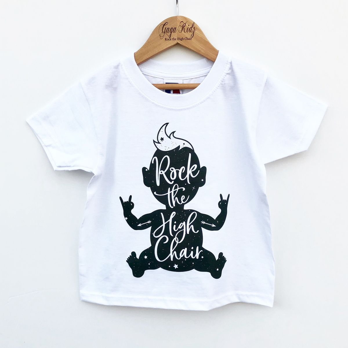 Rock the High Chair Black or White T-Shirt - product images  of