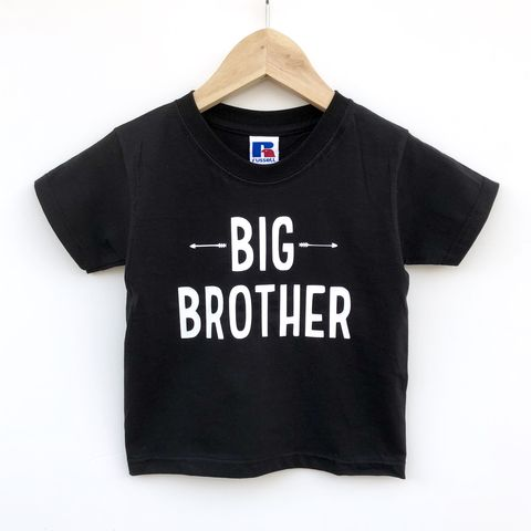 Big,Brother,Sibling,T-Shirt,(various,sizes),sibling set, big brother, big bro, sibling gift, big brother gift, older brother gift, kids clothes, brother t-shirt, bigger brother, promoted to big brother,