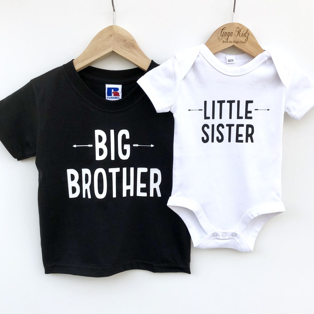 Little Sister Sibling T-Shirt or Bodysuit (various sizes) - product images  of