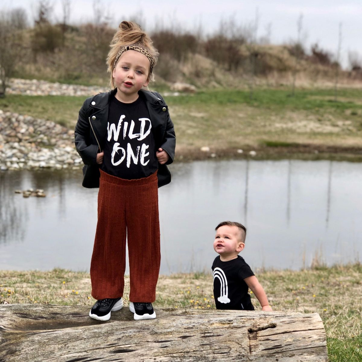 Wild One Black or White T-Shirt - product images  of