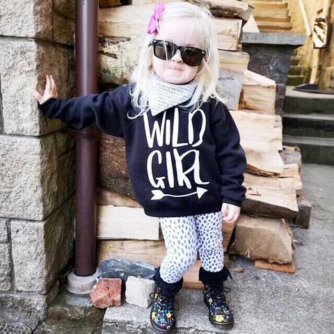 'Wild,Girl',Kids,Sweatshirt,(various,sizes),wild girl, wild child, wild one, kids sweatshirt, kids sweater, crew neck sweater, baby sweater, baby sweatshirt, toddler sweatshirt, adventure girl, girls sweater, girls clothes