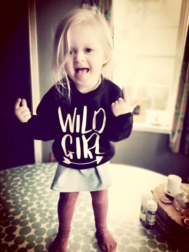 'Wild Girl' Kids Sweatshirt (various sizes) - product images  of