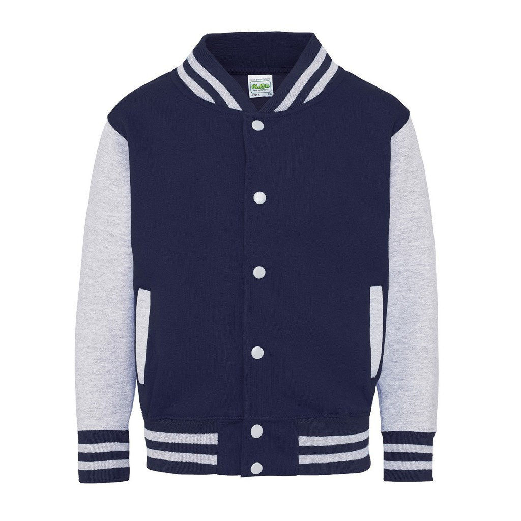 'Let's Rock & Roll' Kids Varsity Jacket - product images  of