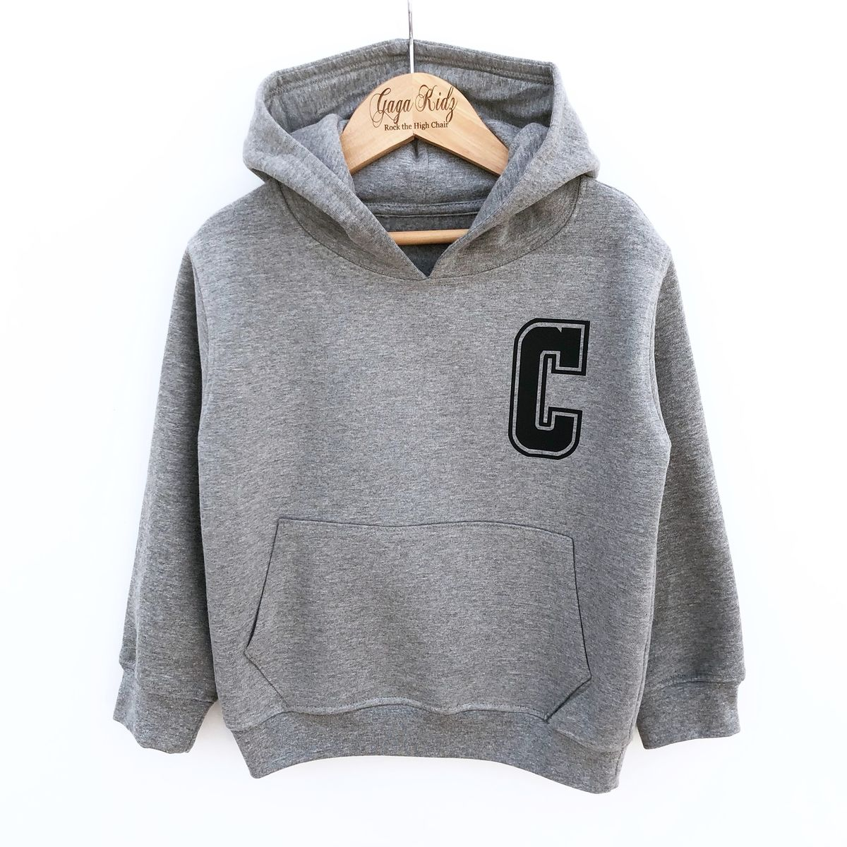 Custom Letter Hoodie - product images  of