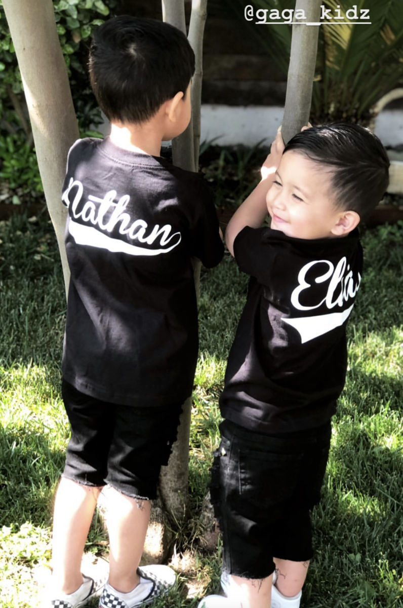 Custom Kids Baseball Swash T-Shirts (various sizes) - product images  of