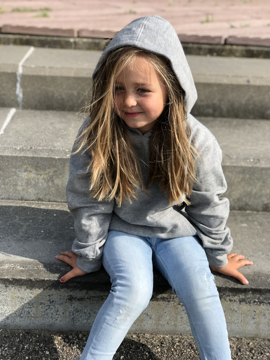 'Awesome' Kids Hoodie with Lightning Bolt (Various Sizes) - product images  of