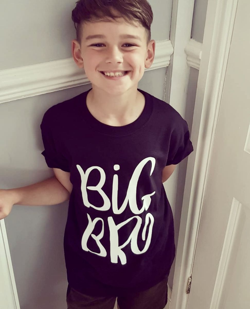 Big Bro Sibling T-Shirt or Bodysuit (various sizes) - product images  of