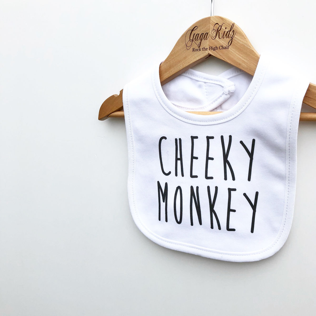 Cheeky Monkey Baby Bib - product images  of