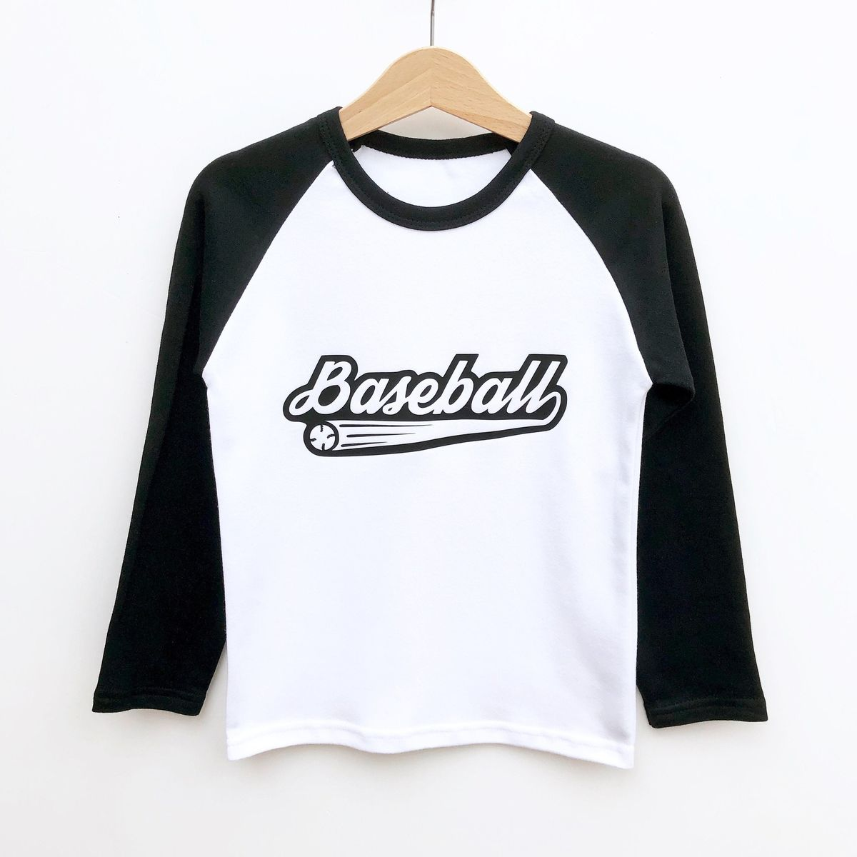 Custom Name/Number Baseball T-Shirt - product images  of
