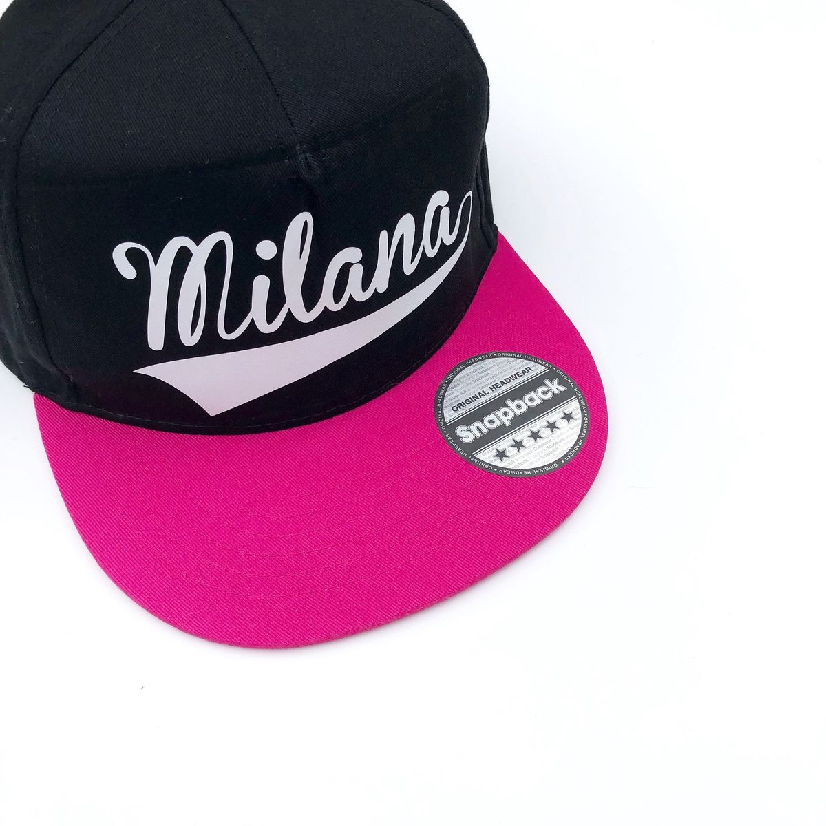 Custom Name Snapback Cap - product images  of