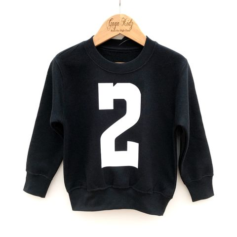 Custom,Number,Sweatshirt,age, number, old, birthday party outfit gift, baby, toddler, youth, infant, kids, children's, personalised sweater, custom sweater, custom sweatshirt, trendy kids clothes, kids pullover sweater, gifts
