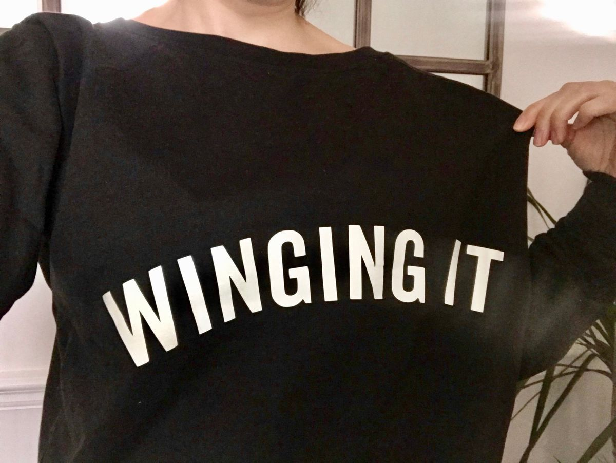 'Winging It' Women's Sweatshirt - product images  of