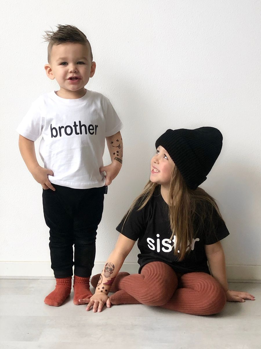 Brother Black or White T-Shirt - product images  of